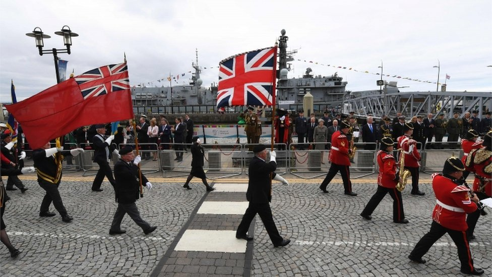 <![CDATA[Thousands in Liverpool for Armed Forces Day celebrations]]>