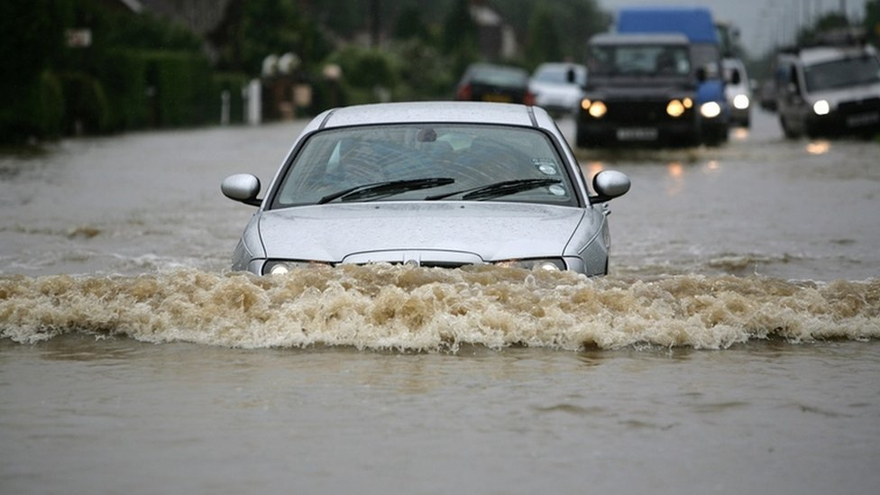 Driving through flood water 'risks lives'