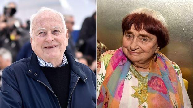 James Ivory y Agnes Varda