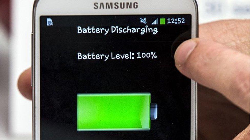 batería teléfono Samsung