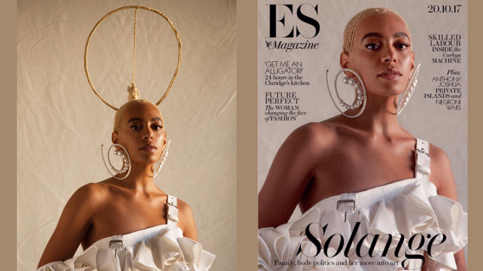 Magazine apologises to Solange for editing image