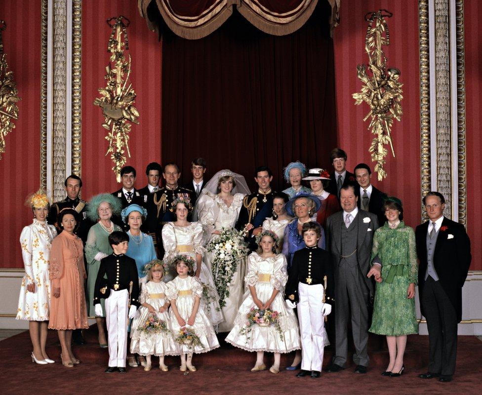 زواج الأمير تشارلز والأميرة ديانا، أمير وأميرة مقاطعة ويلز