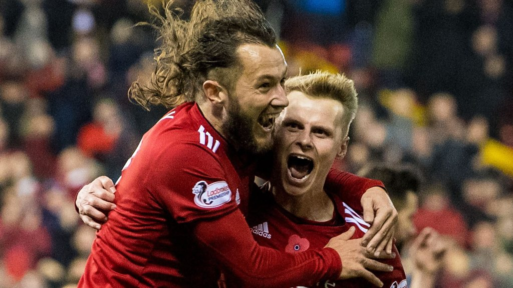 Aberdeen 1-0 Hibs: Gary Mackay-Steven scores terrific winner