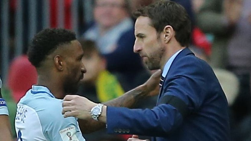 Jermain Defoe's England return a 'great story', says Gareth Southgate