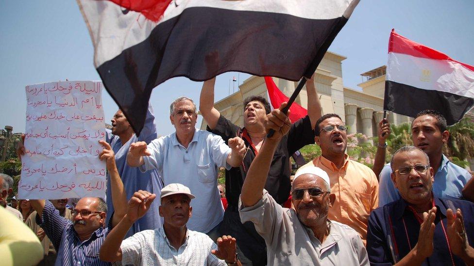 احتجاجات خرجت 2013 بعد عزل مرسي