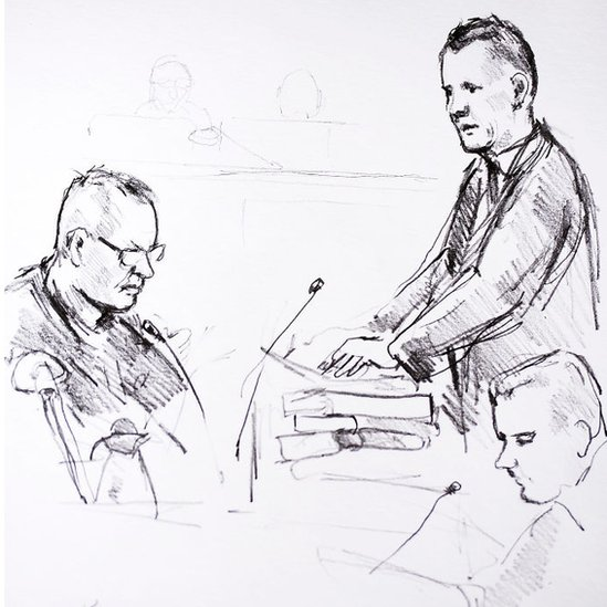 Ilustración del juicio.