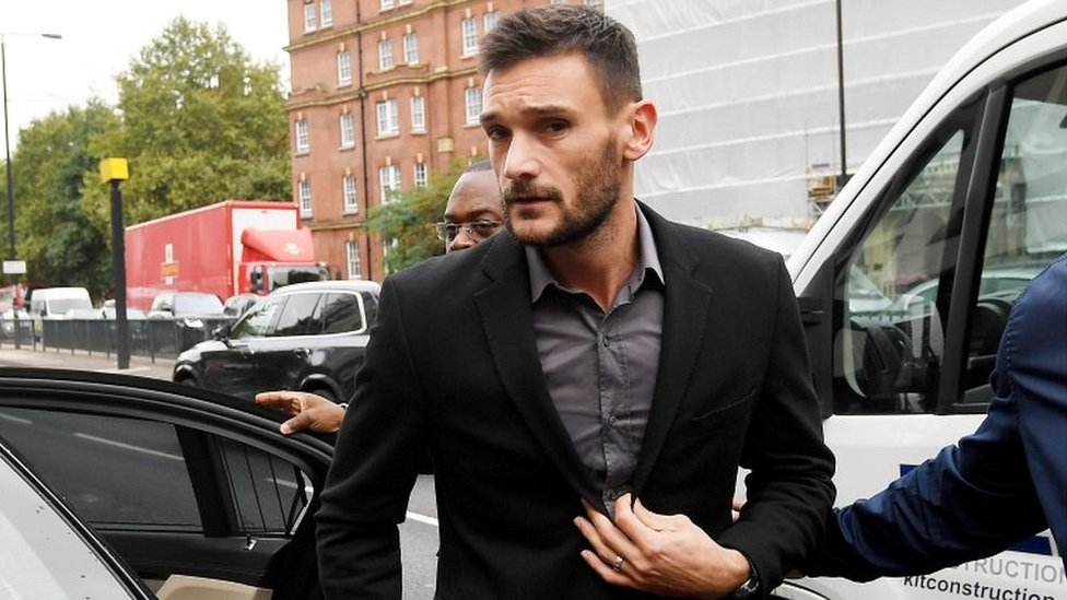 Tottenham goalkeeper Lloris admits drink-driving charge