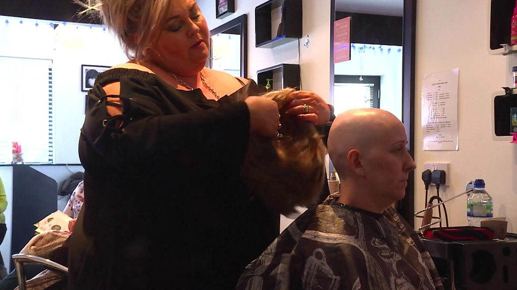 The hairdressing salon for people who have cancer