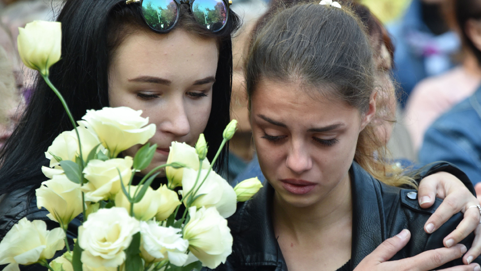 Crimea attack: College shooting is 'globalisation' result