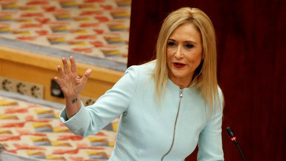 Madrid leader quits amid 'cream theft' claim