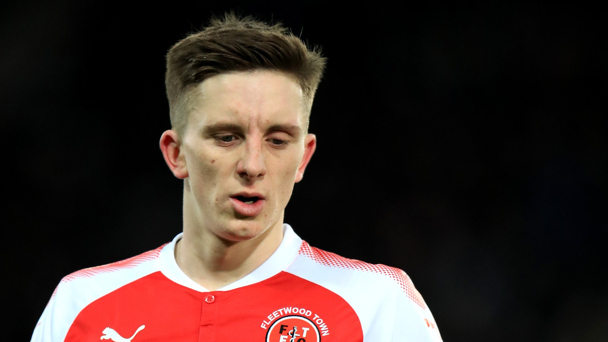 Ashley Hunter: Fleetwood Town forward signs new three-year deal