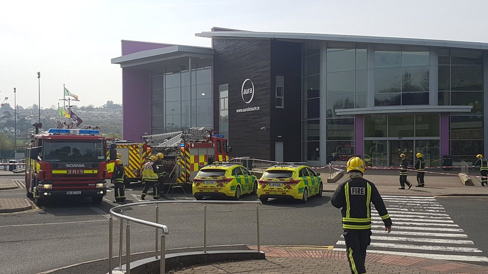 Letterkenny: Children brought to hospital after Aura Leisure Centre evacuation