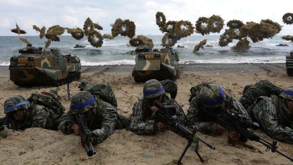 US-South Korea set for divisive military drills