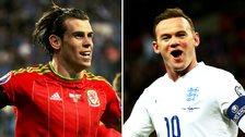 Gareth Bale & Wayne Rooney