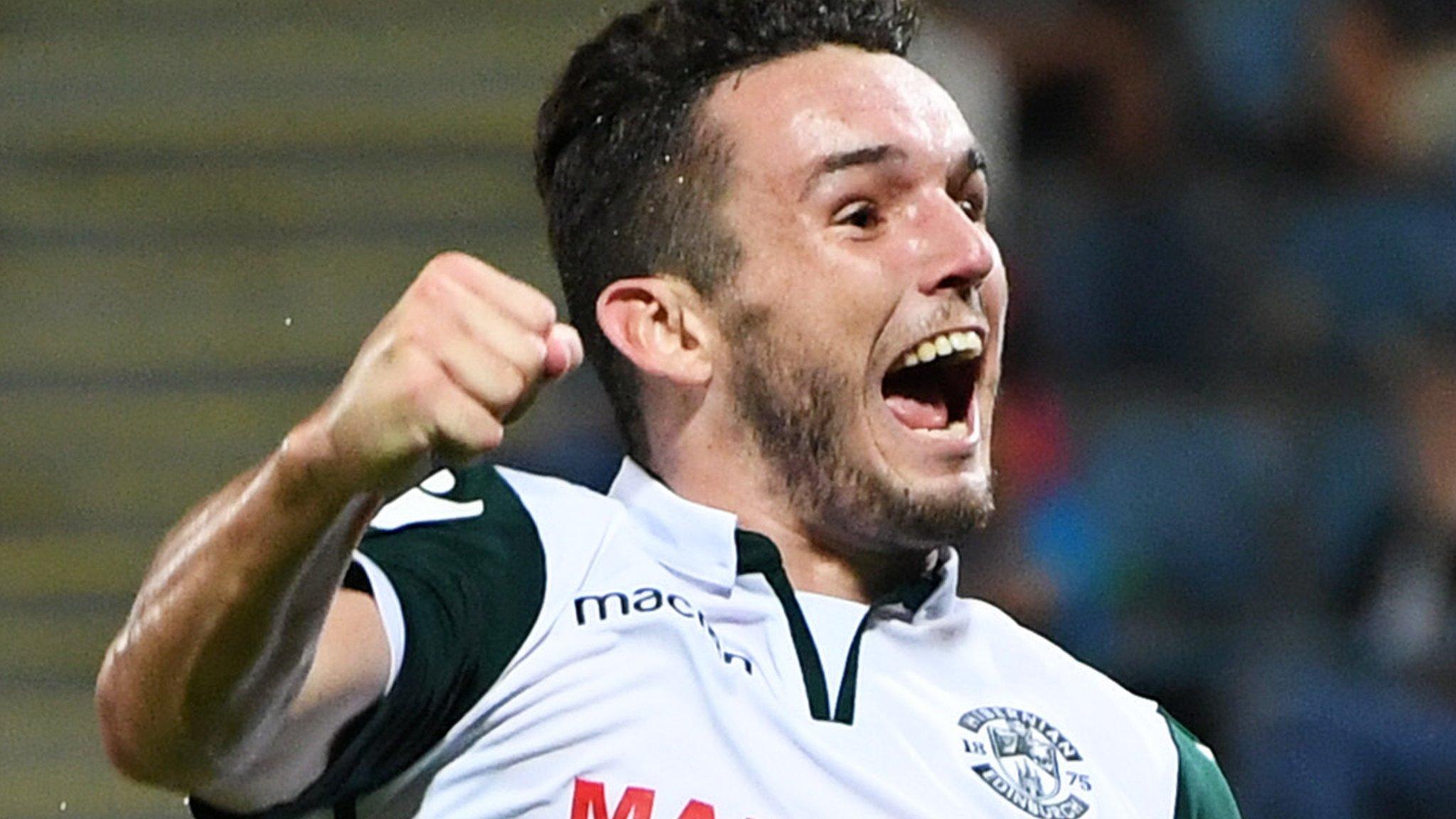 John McGinn: Aston Villa 'in driving position' to sign Hibernian midfielder
