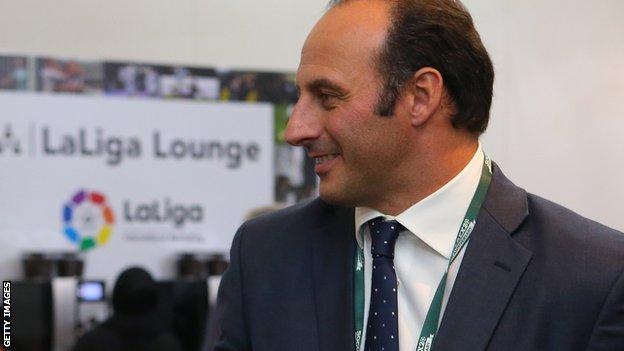 <b>Ramon Vega</b> BBC Sport <b>Ramon Vega</b> ExSpurs defender may stand for - _86194538_ramon_vega_getty