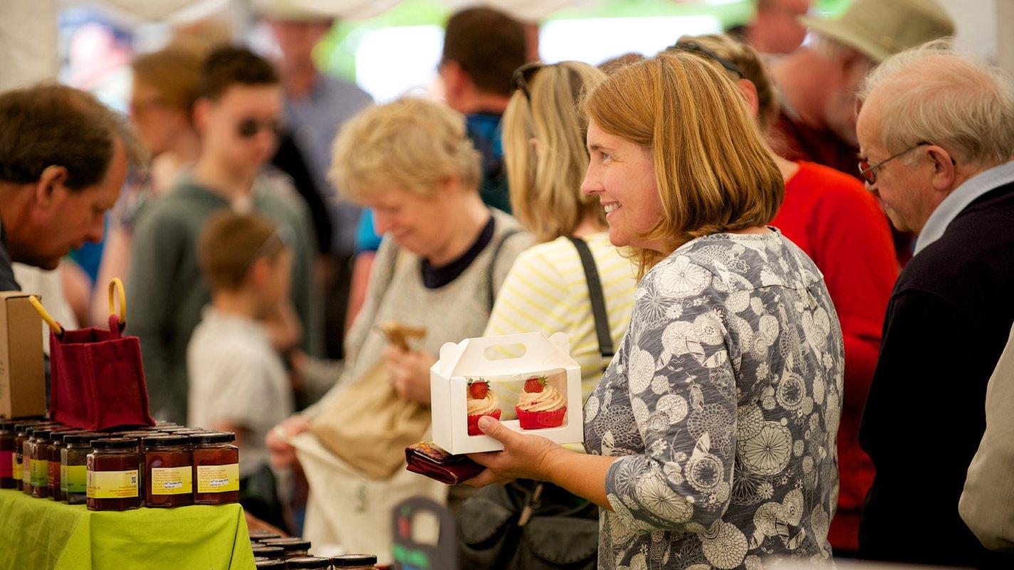 Kirkcudbright food festival gets under way
