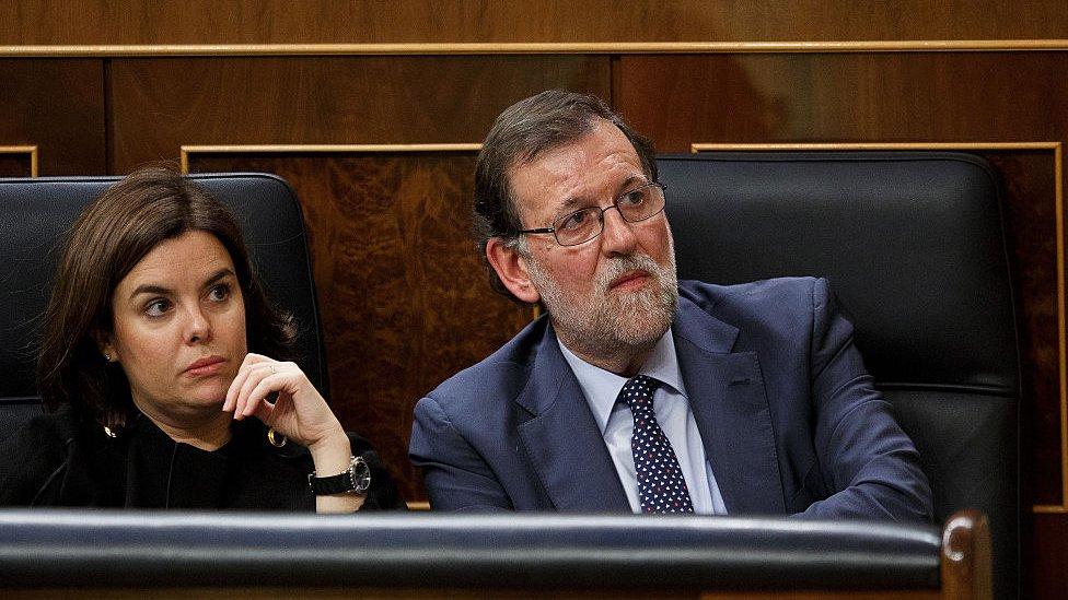 El gobierno español ya advirtió al Parlamento catalán que sería ilegal elegir a Puigdemont.