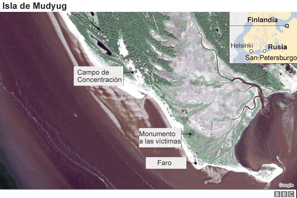 Mapa Mudyug