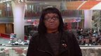 Diane Abbott speaking to BBC Breakfast