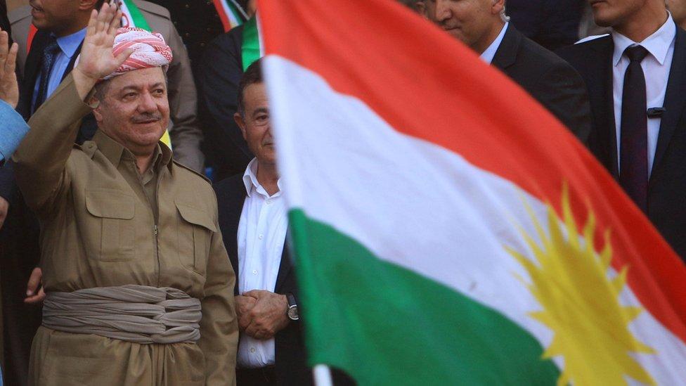 بارزاني: استفتاء كردستان قد يؤجل إذا قدمت بغداد بدائل