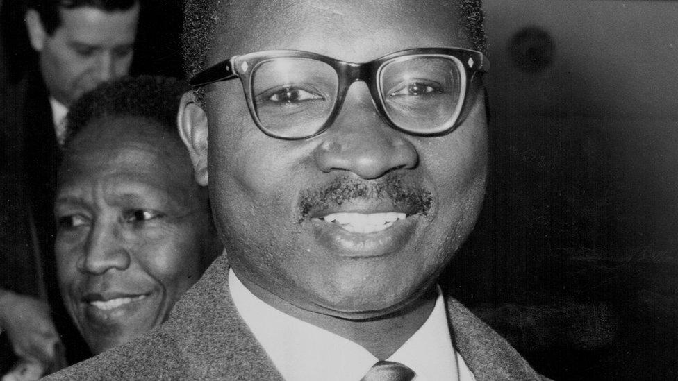 Former Gambian leader Dauda Jawara
