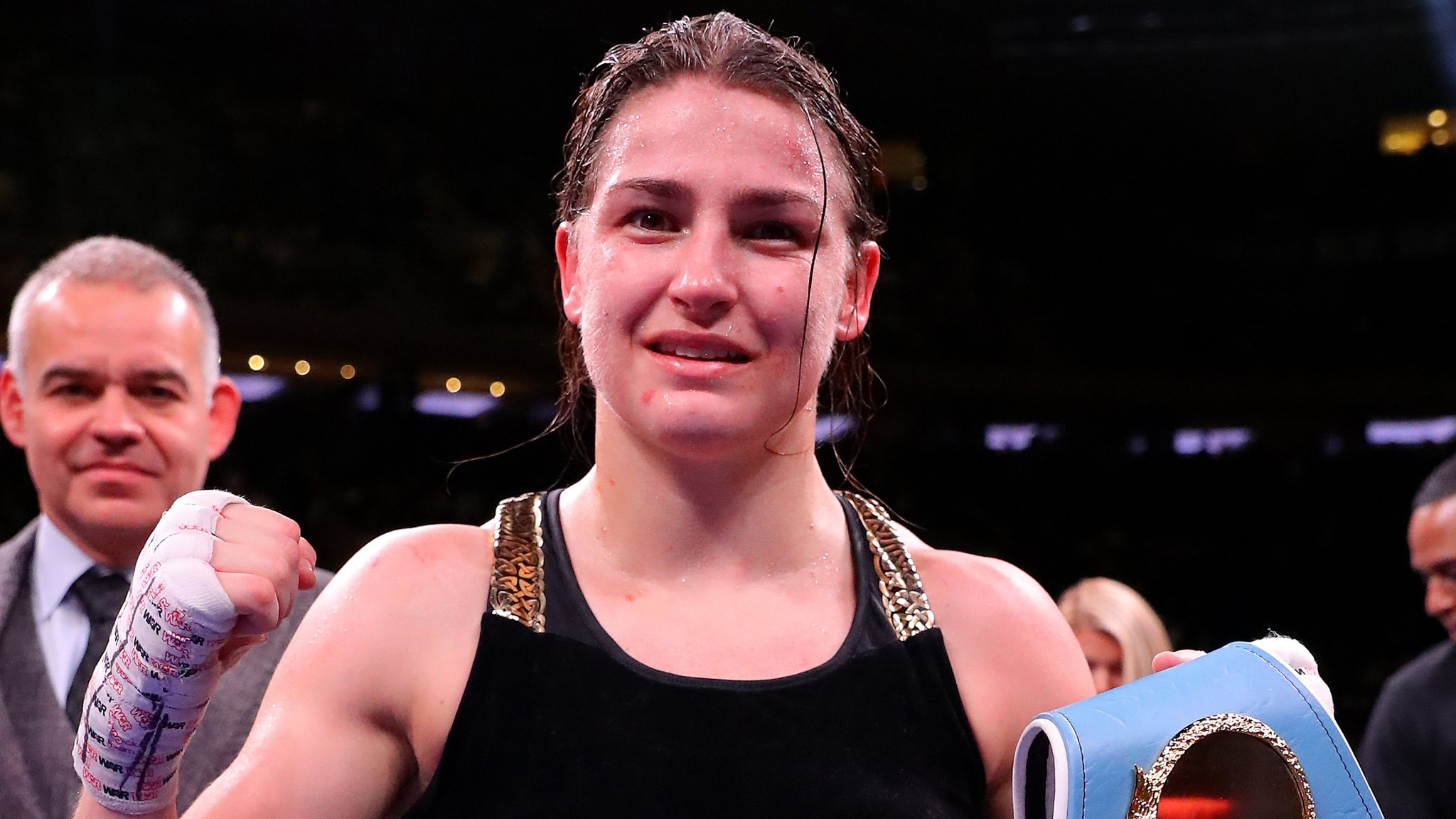 Unbeaten Taylor set for unification bout on St Patrick's Day weekend