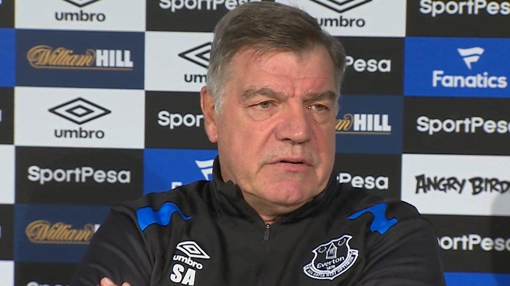 Sam Allardyce: Everton need a 'front man' in transfer window