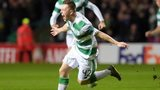 Callum McGregor celebrates
