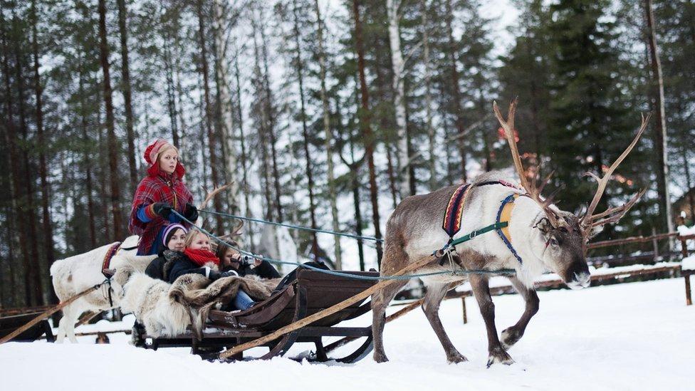 La región de Laponia es uno de los puntos más septentrionales de Europa.