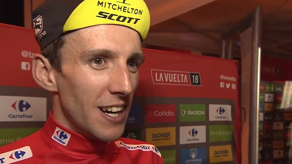 Simon Yates: British cyclist says 'it's been an unbelievable day' after winning Vuelta a Espana