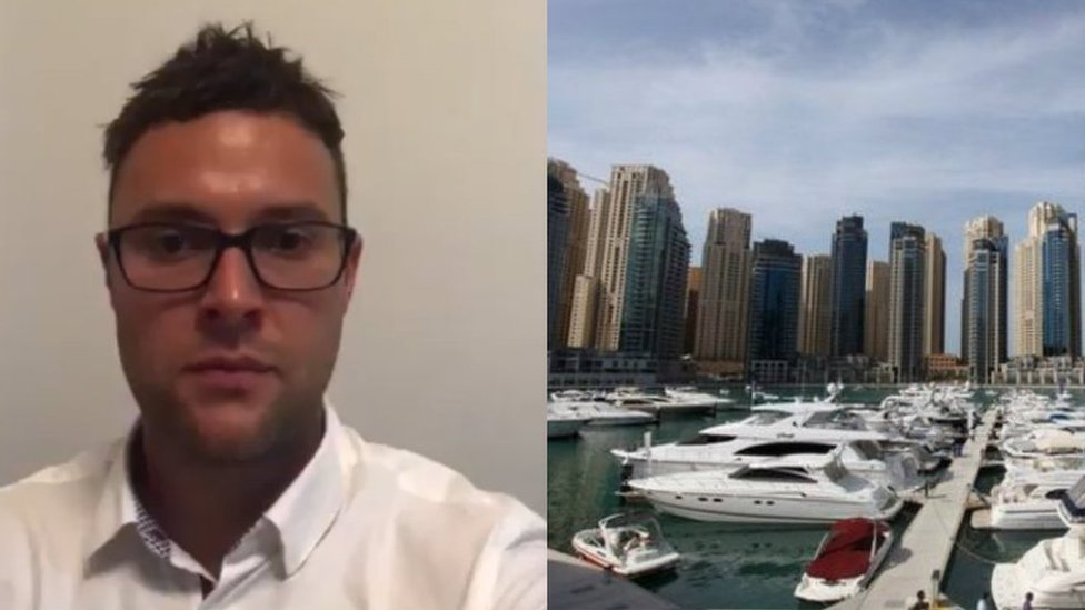 Scot jailed in Dubai for hip touch