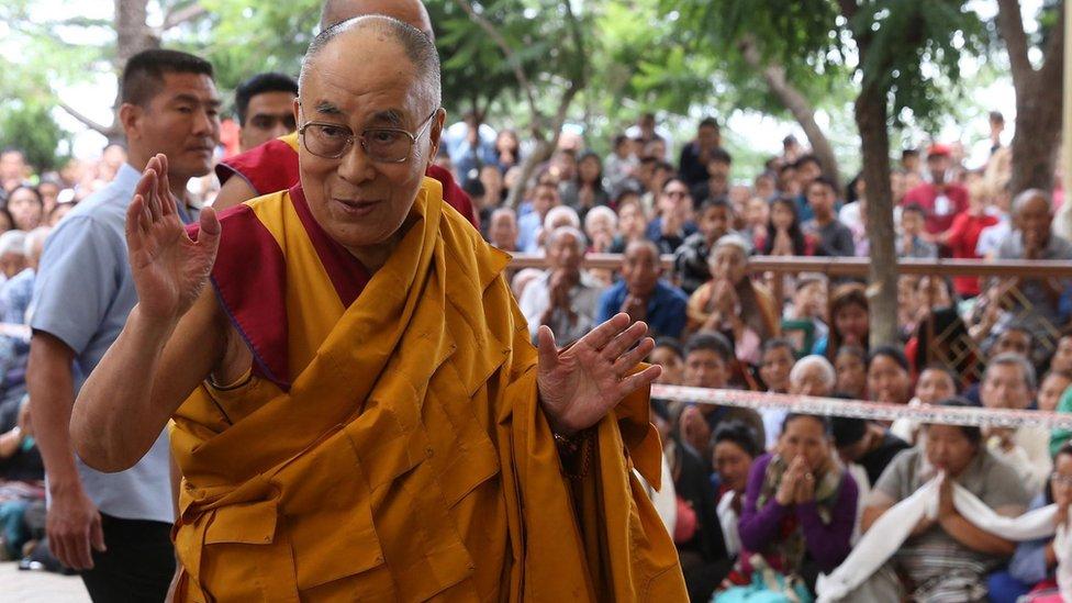 西藏流亡領袖達賴喇嘛