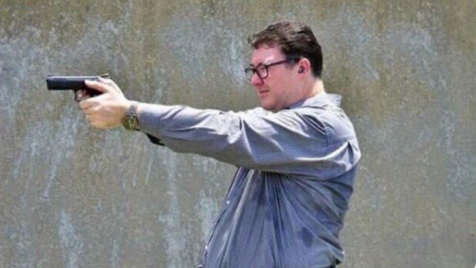 Australia MP George Christensen criticised over gun photo