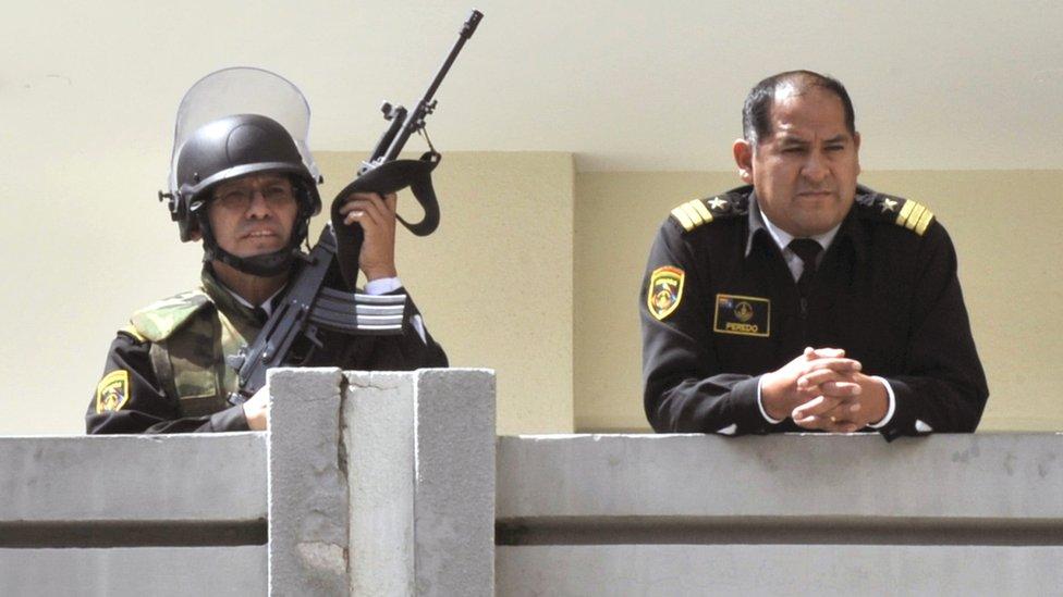 Cuartel de la Armada boliviana en La Paz