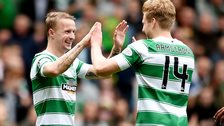 Leigh Griffiths and Stuart Armstrong