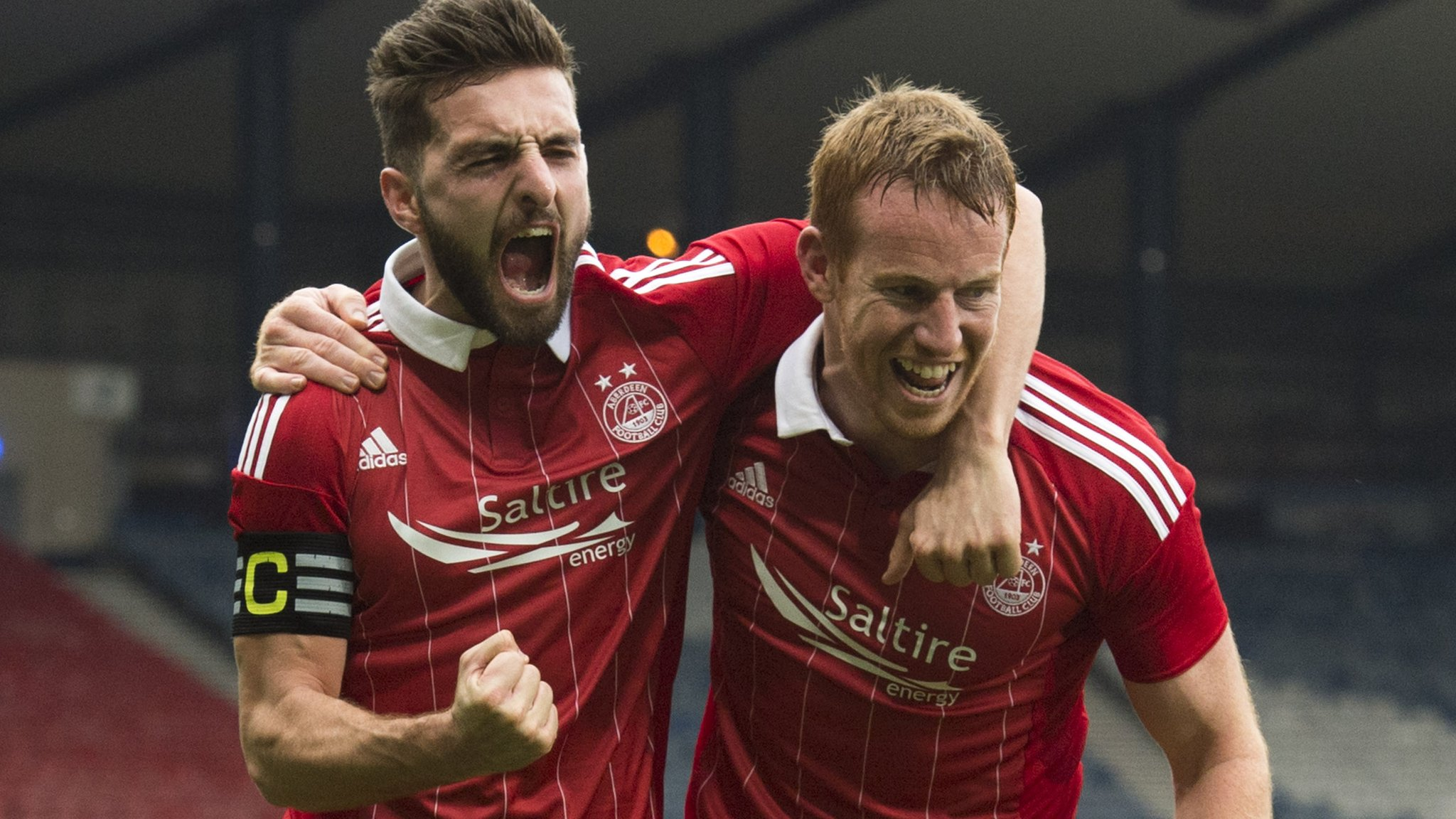 Aberdeen into Scottish League Cup final