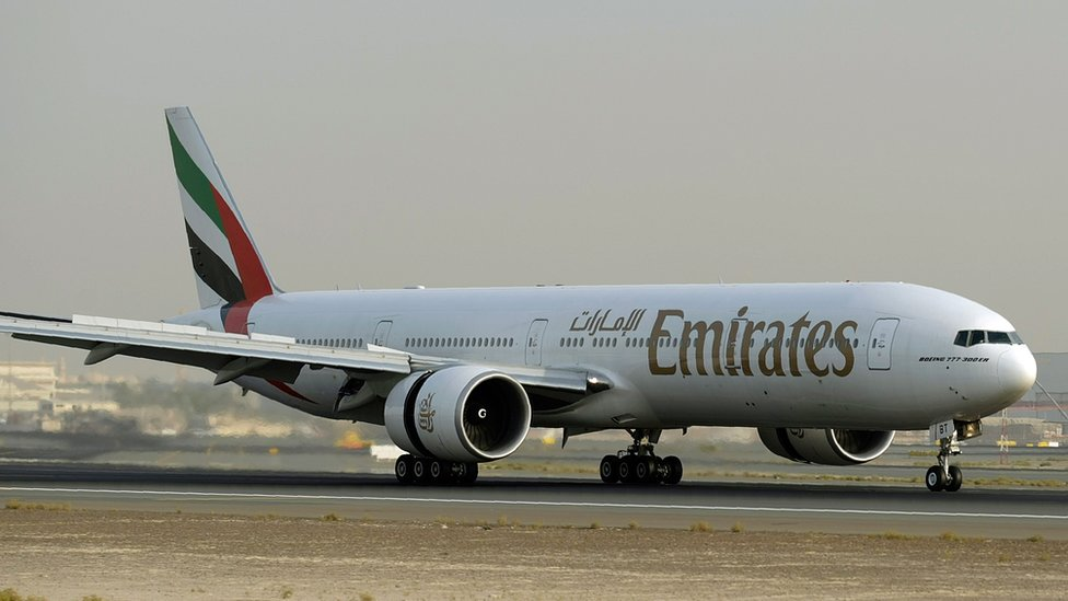Emirates flight attendant dies after fall from plane in Uganda