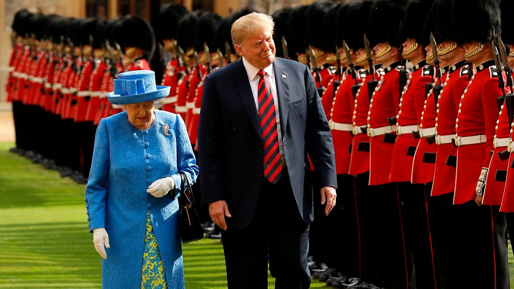 President Trump's UK state visit: Remember his last trip there?
