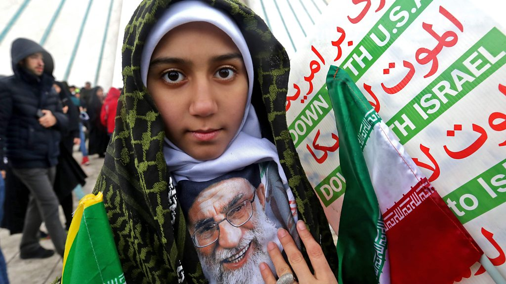 Iran rally marks 40th anniversary of Islamic Revolution