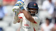 Ashwell Prince in action for Lancashire
