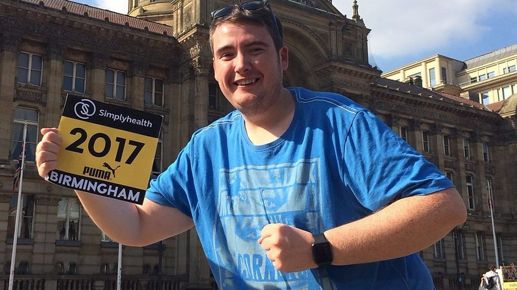 Couch to 5K: Teacher's story from 26 stone to Birmingham half marathon