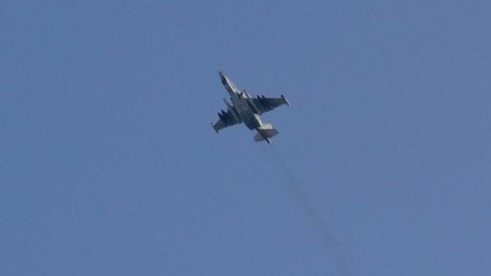 У Сирії збили російський літак