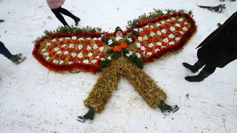 Безмежність барв та костюмів: як на Буковині відсвяткували Маланку