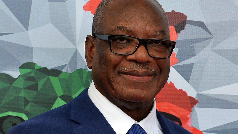 Mali's President Ibrahim Boubacar Keita