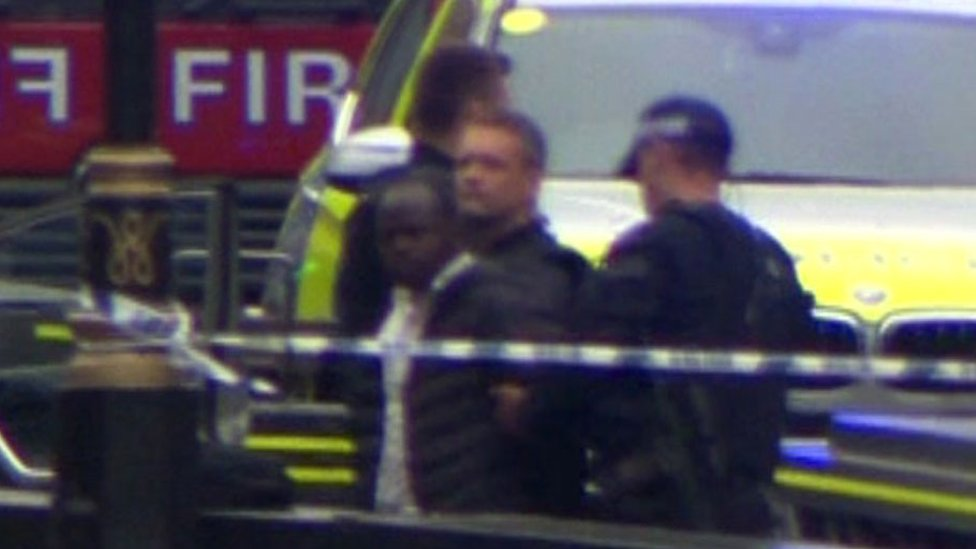 Sudanese man 'behind UK terror attack'