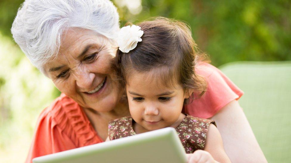 Para Jack Ma es importante pasar tiempo con los nietos.