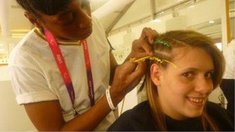 Amanda Reid: Australian Paralympian 'exaggerated symptoms' | BBC