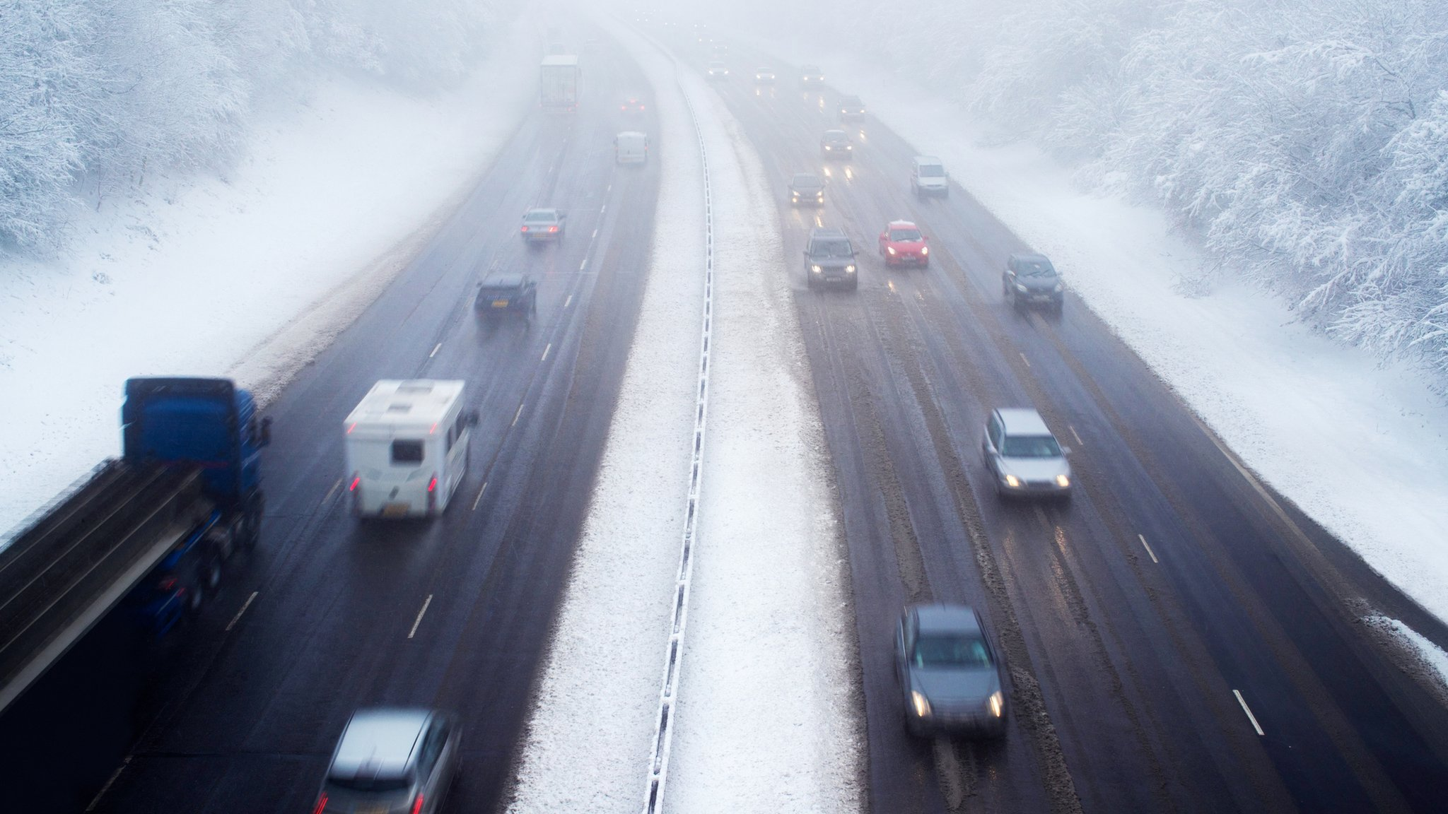Warning of heavy snow and ice for Scotland