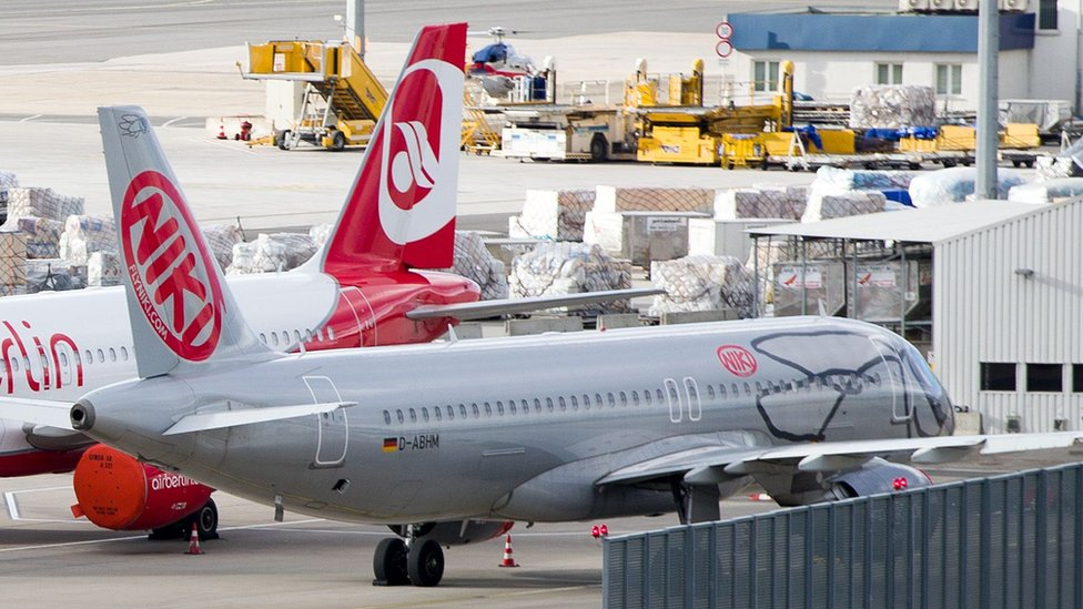 Niki Austrian airline failure strands many passengers